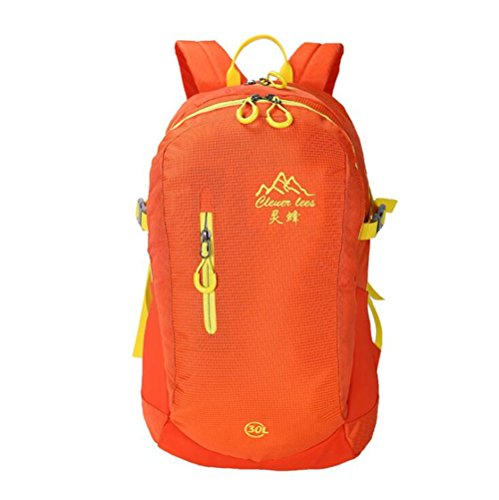 Wmshpeds Color masculino casual femenino mochila de viaje bolso bolsa de estudiantes de escuela intermedia E