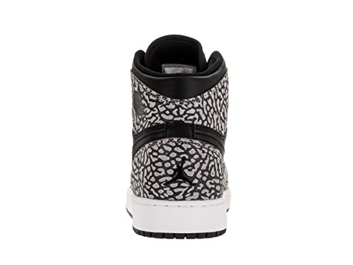 discount best store to get Nike Men's Air Jordan 1 Mid Basketball Shoe Black/Gym Red/Cmnt Gry/Anthracite discount authentic online cheap supply discount outlet 3DMrqfoTpS