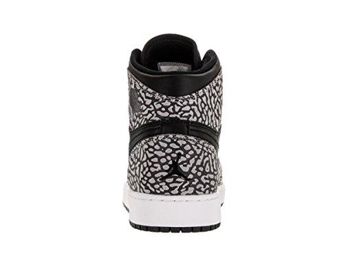 Nike Mens Air Jordan 1 Mitten Basket Sko Svart / Gym Röd / Cmnt Gry / Antracit
