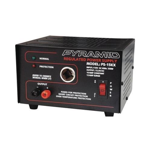 Pyramid Pyle Ps15kx Power Supply 12 Amp With Cigar (Pyramid 10 Amp)