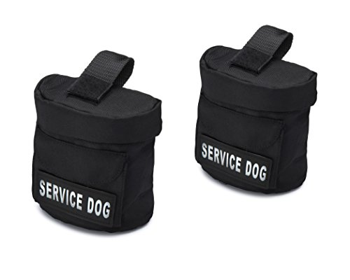 Industrial Puppy Service Dog Vest Harness Saddle Bags with Service Dog Hook Patches