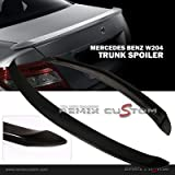 08-12 Mercedes Benz C Class W204 Trunk Duck Spoiler Wing