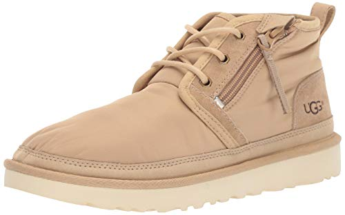 UGG Men's Neumel Zip MLT Chukka Boot, Military Sand, 11 Medium US