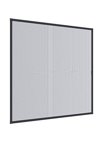Windhager Insektenschutz PLUS Rahmenfenster 140 x 150 cm, anthrazit