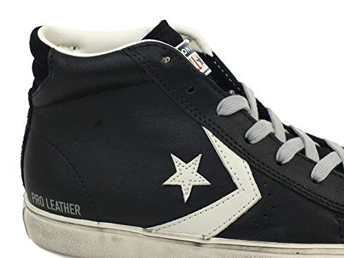 Gray Distressed Zapatillas Vulc turtledove Mid Converse Unisex 001 Lifestyle black Niños Pro light Multicolor Leather qIwtOYB