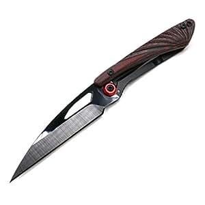 Cool Hand 3'' Super Light Folding Knife, Liner Lock, Black Ceramic or Damascus Blade with G10 or Carbon Fiber Scale