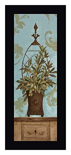 Blue Olive Topiary II by Pamela Gladding - 17