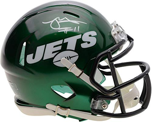 Robby Anderson New York Jets Autographed Riddell 2019 Model Speed Mini Helmet - Fanatics Authentic Certified