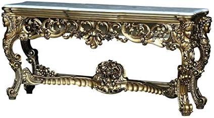 European Furniture Ambrogio Console Table Amazon Co Uk Kitchen Home