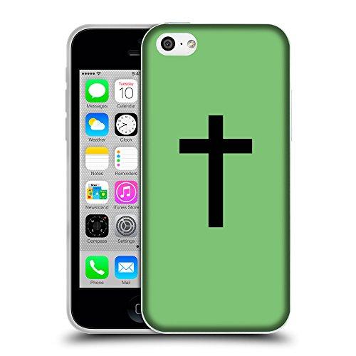 GoGoMobile Coque de Protection TPU Silicone Case pour // Q08500629 Religion 14 Pastel Vert // Apple iPhone 5C