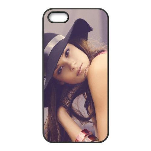 Girl Model Brunette Eyes Red Hat 16699 coque iPhone 5 5S cellulaire cas coque de téléphone cas téléphone cellulaire noir couvercle EOKXLLNCD24003