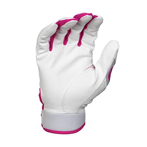 EASTON HYPERLITE Fastpitch Softball Batting Glove Series Pair Womens Girls 2020 Flexible Lightweight Sublimated Design Durable 2 Piece Palm Comfort Breathable Neoprene Band Strap