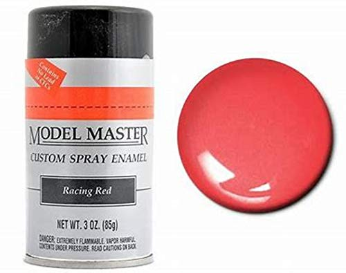 Testors Model Master Spray Enamel Racing Red 3oz. 85g #2939