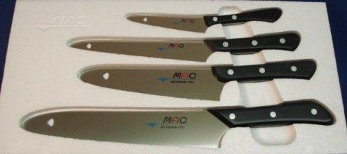 Mac Knife Original Series 4-Piece Starter Set