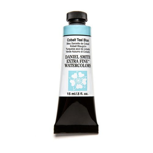 Price comparison product image Daniel Smith Extra Fine Watercolor 15ml Paint Tube, Cobalt Teal Blue