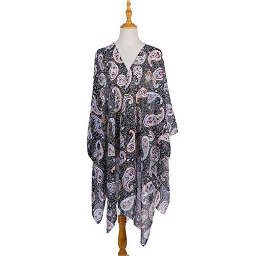(Cover Up Boho Printing Shawl Bathing Suit Beach Dress Saida De Praia Feminino Beachwear Cover Up Beach Dresses,As Photo Shows,One Size)
