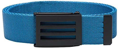 adidas Golf Men's Webbing Belt, Shock Blue S,