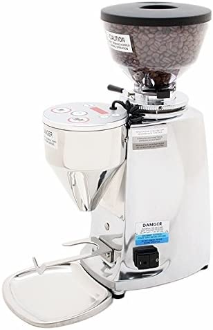 Mazzer Mini Electronic Coffee Espresso Grinder Type A – Polished Aluminum