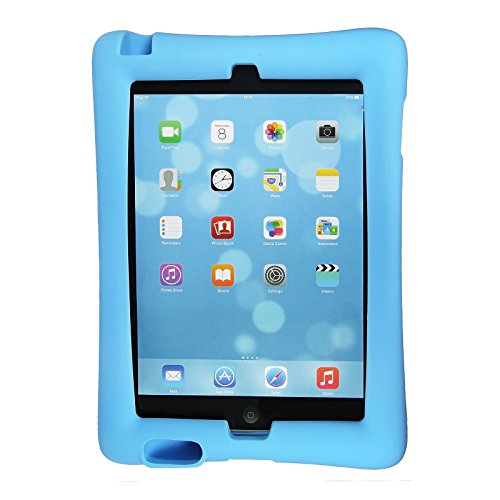 Maximal Power Shock Impact Proof Silicone Cover for Apple iPad 2, 3rd, 4th Generation Case, Blue (POU IPAD/BL) by MaximalPower (Image #3)