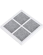 YUUGAA Luftfilter för kylskåp, kylskåp renare luftfilter aktivt kolfilter tillbehör
