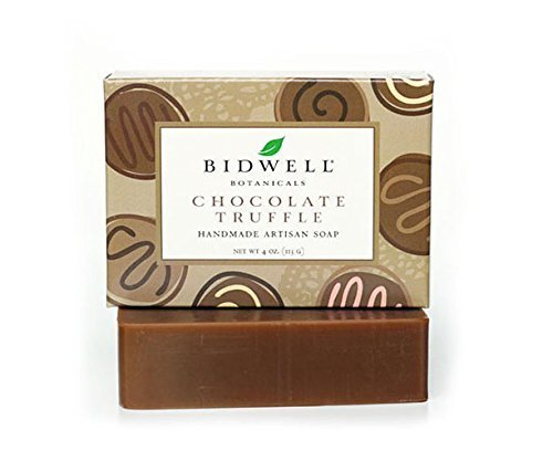 Chocolate Truffle Handmade Artisan Soap with Organic Cocoa Butter
