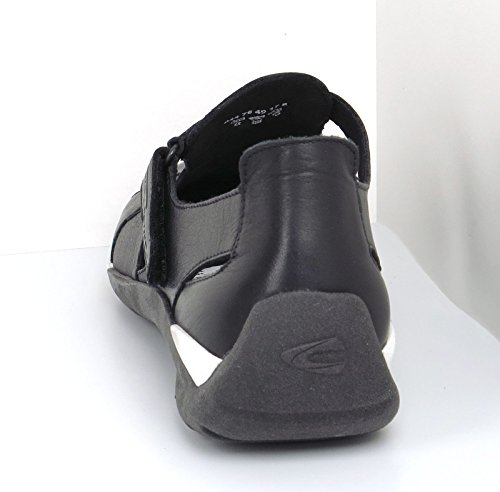 01 844 Mujeres 75 Black active Negro Negro Black camel Planos Zapatos gzB5qw