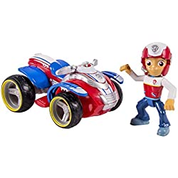 Nickelodeon, Paw Patrol - Ryder's Rescue ATV, Vehicle and Figure (works with Paw Patroller)