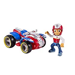 Paw Patrol Nickelodeon, Ryder's Rescue Atv, Vehicle & Figure (Works With Paw Patroller)