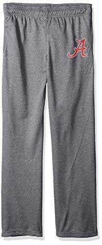 NCAA Alabama Crimson Tide Men's Poly Fleece Pants, Large, Dark Heather Alabama Pants