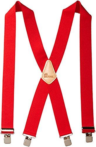 Berne Workwear Embossed Back Elastic Suspenders Accessory
