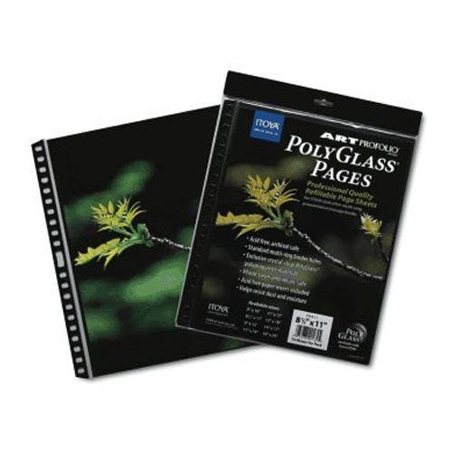 Art Profolio 17 x 22 In. Crystal Clear PolyGlass Pages (10 Sheets) by ITOYA (Image #1)