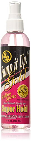 (Bronner Brothers Pump It Up Spritz Gold, 8 Ounce)