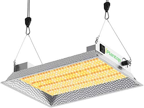 iPlantop Daisy Chain LED Grow Light 1500 Series with Optical Aluminum Reflective Hood, High Par Value Full Spectrum LED Plant Growing Light for All Indoor Plants with Dimmable Function 150W