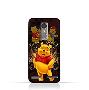 Lenovo K6 TPU silicone Protective Case with Winnie the Pooh Design