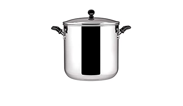 Farberware Classic Stainless Steel 11-Quart Covered Stockpot: Amazon ...