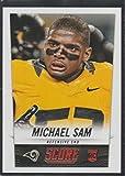 2014 Score Michael Sam Rams Rookie Football Card #408