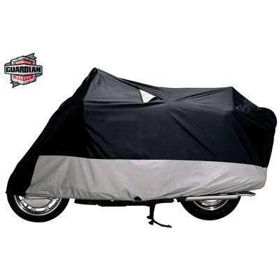 IMPROVED XXX-LARGE GUARDIAN WEATHERALL PLUS MOTORCYCLE COVER (4001-0053) (Plus Cover Motorcycle Weatherall)