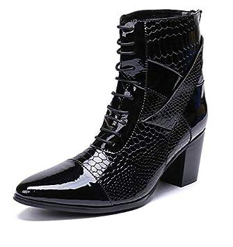 a33dde9d683 LOVDRAM Zapatos De Cuero para Hombre Moda Hombre Botines Doble Cuckles  Zapatos De Vestir Formales Punta