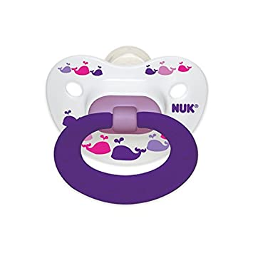 Amazon.com : NUK 2 Piece Fashion Orthodontic Pacifier, 18-36 Months ...