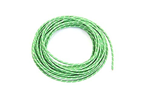Amazoncom V Twin 32 8096 Green 25 Cloth Covered Wire Automotive