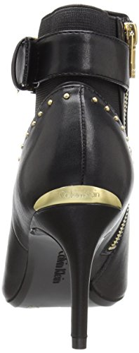 Calvin Klein Womens Jozie Ankle Bootie Black Leather Ymt1RrYg