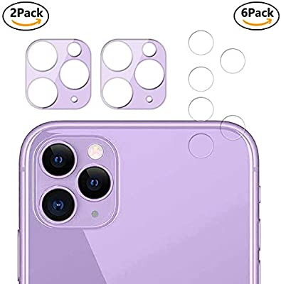 Guran [8 Paquete Protector de Lente de Cámara para iPhone 11 Pro ...