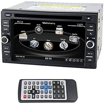 Amazon.com: QSICISL 6.2 inch NISSAN Universal DVD player 2 Din ...