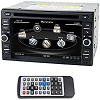 QSICISL 6.2 inch NISSAN Universal DVD player 2 Din multimedia Video Player GPS Navigation Car Stereo For Nissan Pathfinder/Nissan Frontier/Versa/Murano/Sentra/QASHQAI with Free Map Card
