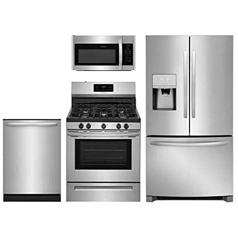 Amazon Com 4 Piece Stainless Steel Kitchen Package With Ffhb2750ts