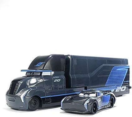 Amazon Com Pixar Cars Toys Lightning Mcqueen Mack Trucks Racers