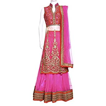 Kalaniketan Multi Color Festive Lehenga Cholis For Women