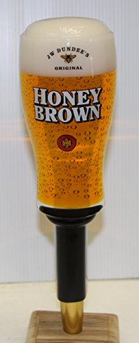JW Dundee Honey Brown beer Tap Handle 10