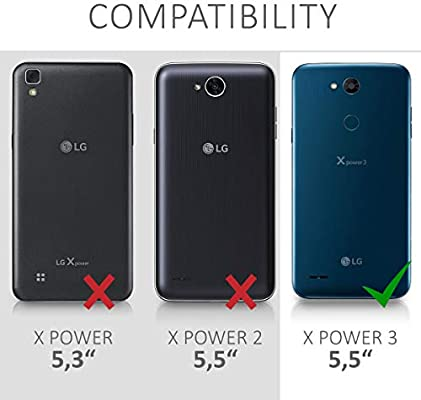 kwmobile Funda Compatible con LG X Power 3: Amazon.es: Electrónica