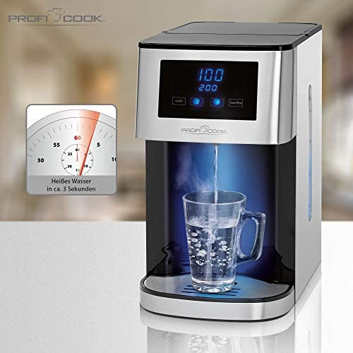 ProfiCook PC-HWS 1145 4 L Black,Stainless steel PC-HWS 1145, 2600 W, 220-240 V, 50/60 Hz, 2.95 kg, LED